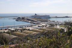 Port at Barcelona. Catalonia. Spain Royalty Free Stock Photography