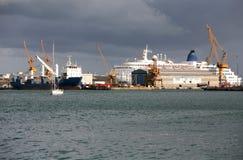 Port in Barcelona Stock Image