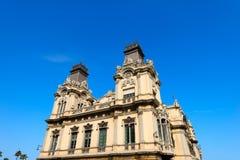 Port Barcelona, Hiszpania - Obrazy Royalty Free