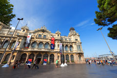 Port Barcelona, Hiszpania - Fotografia Royalty Free