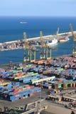 Port of Barcelona - logistics area Stock Photography