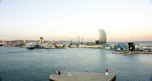 Port of Barcelona Stock Photo