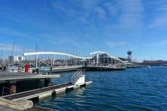 Port of Barcelona Royalty Free Stock Photo