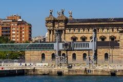 Port of Barcelona. The Port of Barcelona, Spain stock photo