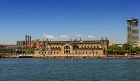 Port of Barcelona. The Port of Barcelona, Spain stock photos