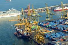 Port of Barcelona, Spain Stock Image