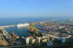 Port of Barcelona, Spain Royalty Free Stock Photo