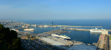 Port of Barcelona, Spain Royalty Free Stock Photography