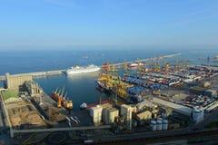 Port of Barcelona, Spain Royalty Free Stock Image
