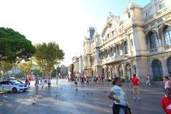 Port of Barcelona, Spain Stock Photos