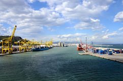 Port of Barcelona Spain Royalty Free Stock Image