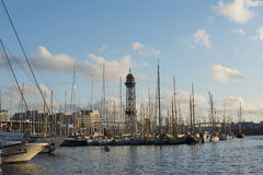 Port of Barcelona Stock Image