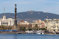 Port of Barcelona, Spain Port Vell Royalty Free Stock Photos