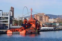 Port of Barcelona, Spain Port Vell Stock Photography