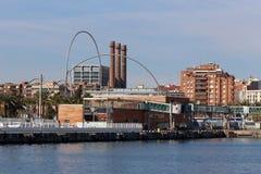 Port of Barcelona, Spain Port Vell Stock Photos