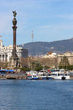 Port of Barcelona, Spain Port Vell Royalty Free Stock Images