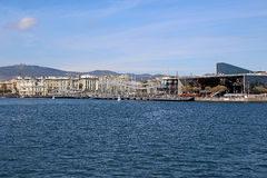 Port of Barcelona, Spain Port Vell Royalty Free Stock Photography