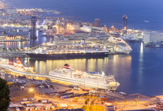 Port of Barcelona Royalty Free Stock Photo