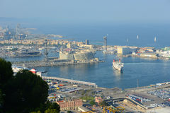 Port of Barcelona, Spain Royalty Free Stock Images