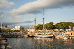 Port in Barcelona Stock Photography