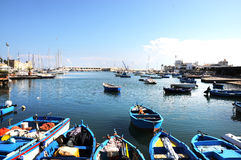 Port in Bari Royalty Free Stock Photos