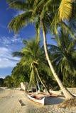 Port barton beach banka palawan philippines Royalty Free Stock Photo