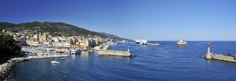 Port in Bastia Royalty Free Stock Photography
