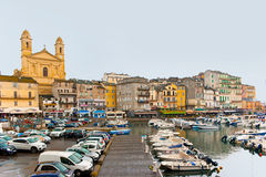 The port of Bastia Royalty Free Stock Photo
