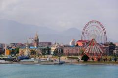 Port in Batumi Royalty Free Stock Photo