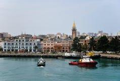 Port in Batumi Royalty Free Stock Photos