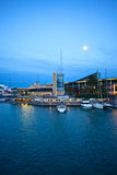 Port in beautiful Barcelona, Spain Stock Photography