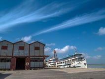 Port of Belem royalty free stock photo