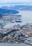 Port of Bergen, Norway Stock Photo