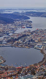 Port of Bergen, Norway Stock Photography