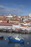 Port of Bermeo. Bizkaia, Spain Royalty Free Stock Photography