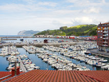 Port of bermeo Stock Images