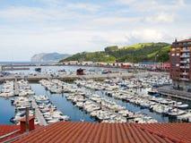 Port of bermeo. Maritime port of bermeo in bizcaya in Spain Stock Images