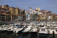 Port Bermeo, Baskijski kraj (Pais Vasco) Fotografia Stock