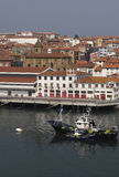Port of Bermeo, Basque country. Spain Stock Photography