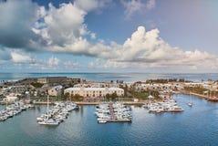 Port in bermuda island Royalty Free Stock Image