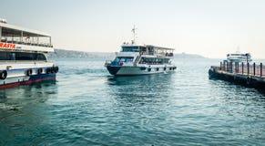 The port of Besiktas in Istanbul, Turkey Stock Image