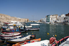 Port Bizerte Royalty Free Stock Photo