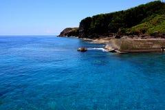 Port bleu Images stock