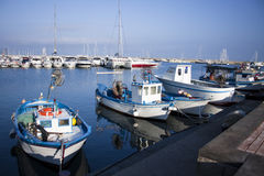 Port and Boats Stock Image