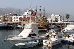 Port in Girne Stock Image