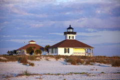 Port Boca Grande (Gasparilla Island) Lighthouse Stock Photo