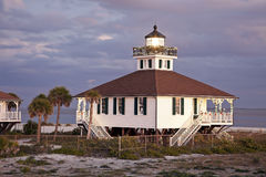 Port Boca Grande (Gasparilla Island) Lighthouse Royalty Free Stock Photo