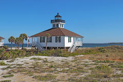 Port Boca Grande Lighthouse on Gasparilla Island, Florida Royalty Free Stock Images