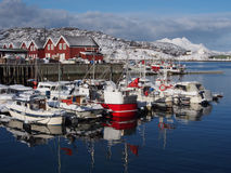 Port in Bodo, Norway Stock Photo