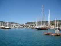 Port Bodrum, Turcja Zdjęcia Royalty Free